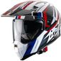 Mobile Preview: Caberg Helm Xtrace Savana weiß/rot-blau