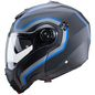 Preview: Caberg Helm Droid Pure matt-schwarz/anthrazit-blau