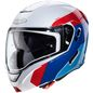 Mobile Preview: Caberg Helm Horus Scout weiß metallic/rot-blau