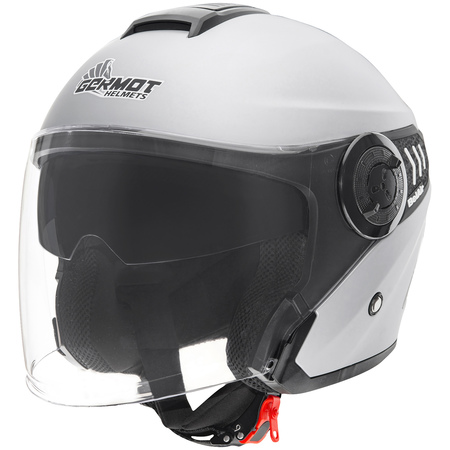Germot Helm GM 660 matt-silber
