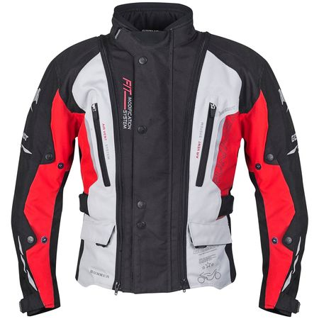 Germot Jacke Runner Junior schwarz/rot