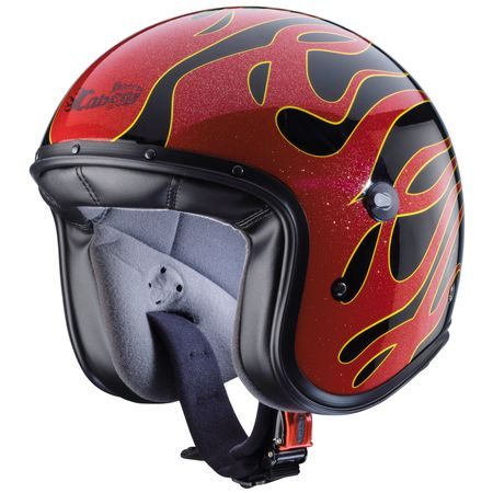 Caberg Freeride Flame schwarz/rot