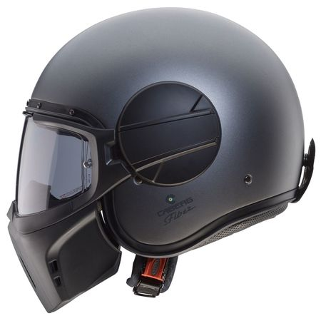 Caberg Helm Ghost matt-gun metallic