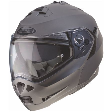 Caberg Helm Duke II matt-gun metallic