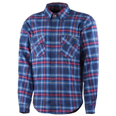 Trilobite Shirt Timber 2.0 Herren blau/rot
